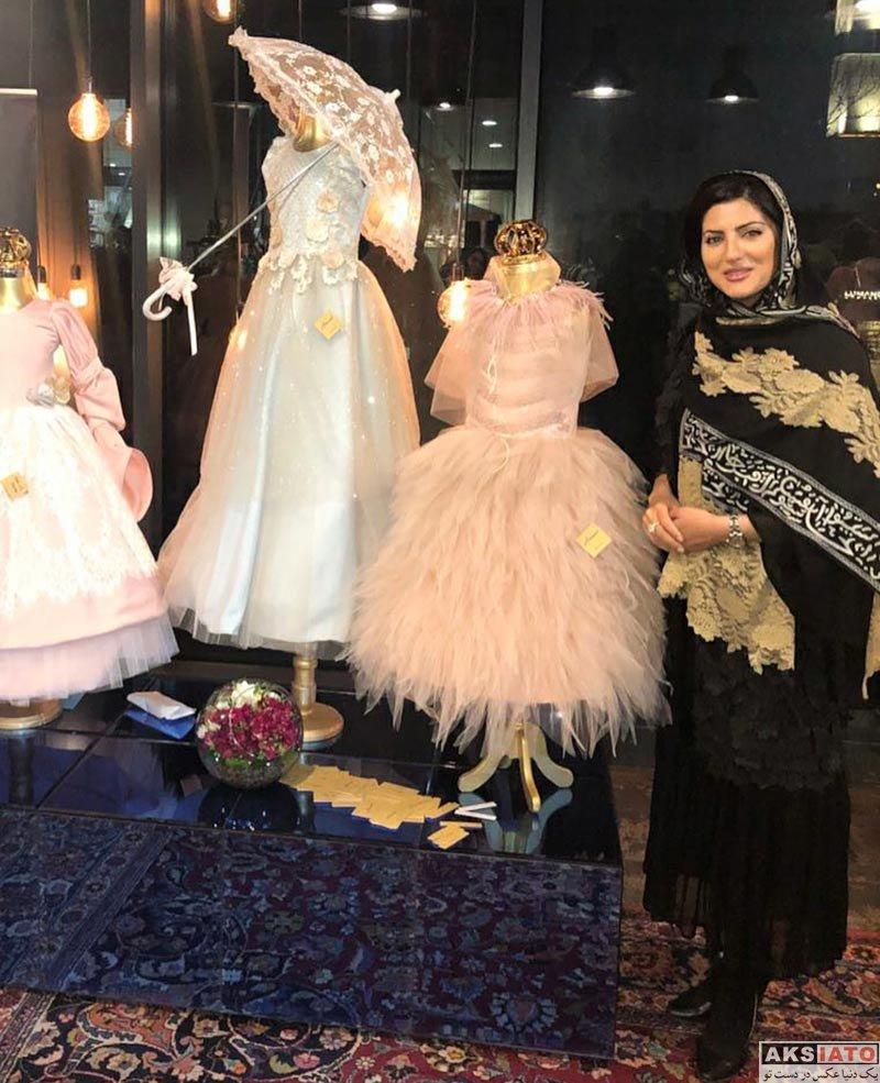 بازیگران بازیگران زن ایرانی  هلیا امامی در ایونت فروشگاه حجاب استایل (6 عکس)