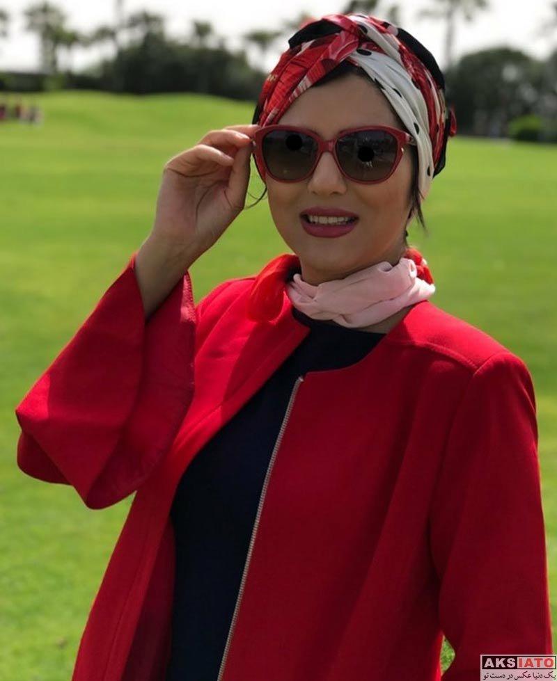 بازیگران بازیگران زن ایرانی  عکس های هلیا امامی در فروردین ماه ۹۷ (۸ تصویر)