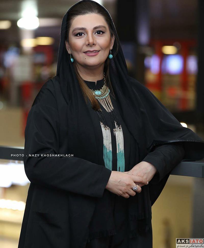 جشنواره جهانی فیلم فجر  هنگامه قاضیانی در سی و ششمین جشنواره جهانی فیلم فجر (3 عکس)