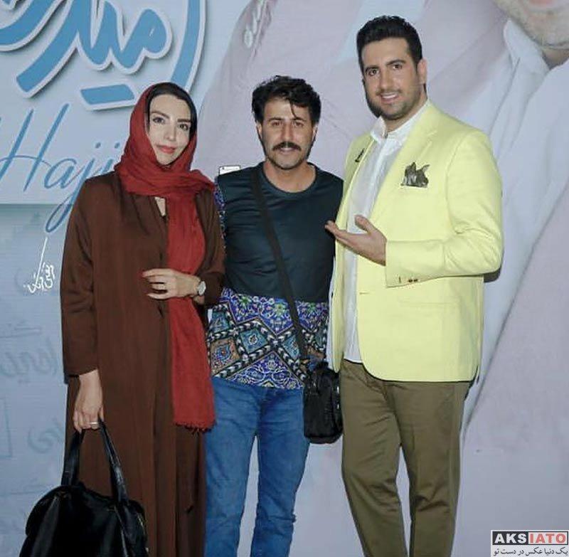 خانوادگی  هومن حاجی عبداللهی بازیگر نقش رحمت و همسرش