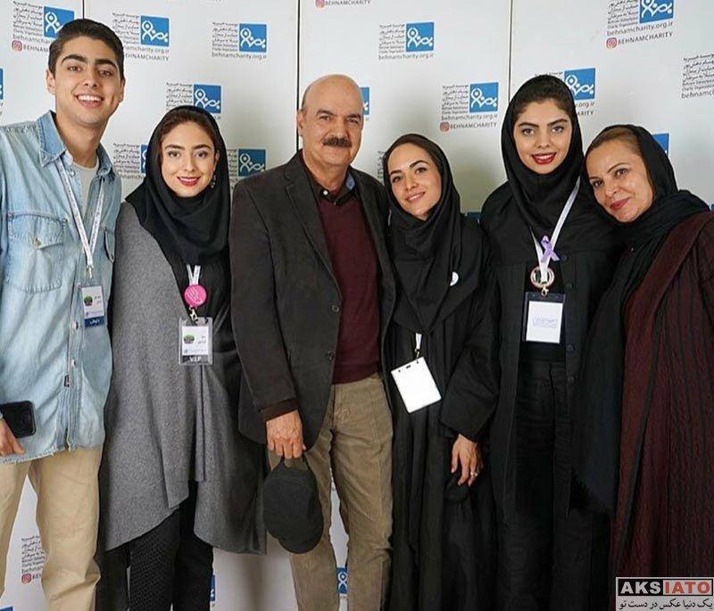 خانوادگی  ایرج طهماسب و همسرش در جشنواره موسسه خیریه بهنام (4 عکس)
