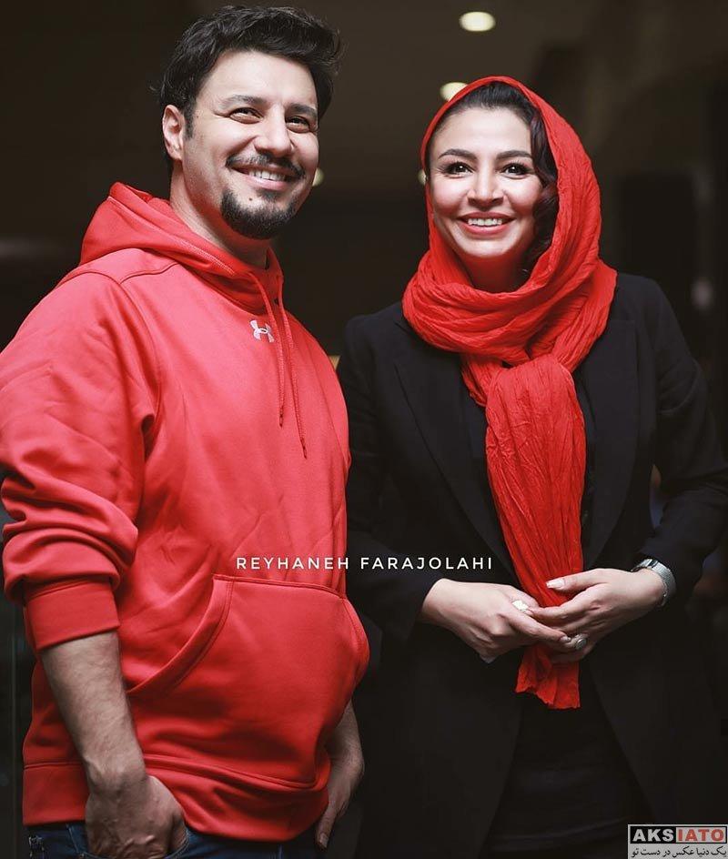 جشنواره جهانی فیلم فجر  جواد عزتی و همسرش در 36مین جشنواره جهانی فیلم فجر (3 عکس)