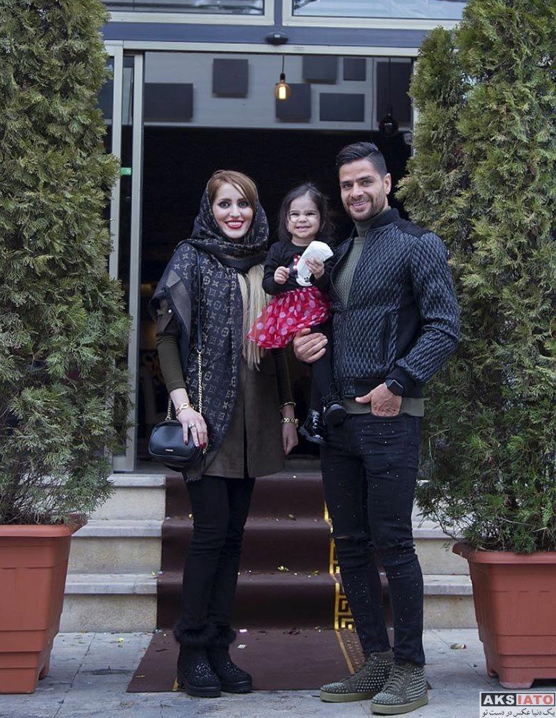 خانوادگی  عکس های کمال کامیابی نیا و همسرش در فروردین 97 (4 تصویر)