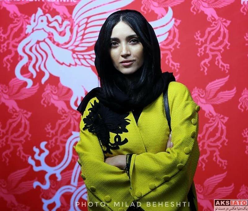 جشنواره جهانی فیلم فجر  خاطره اسدی در سی و ششمین جشنواره جهانی فیلم فجر (۴ عکس)