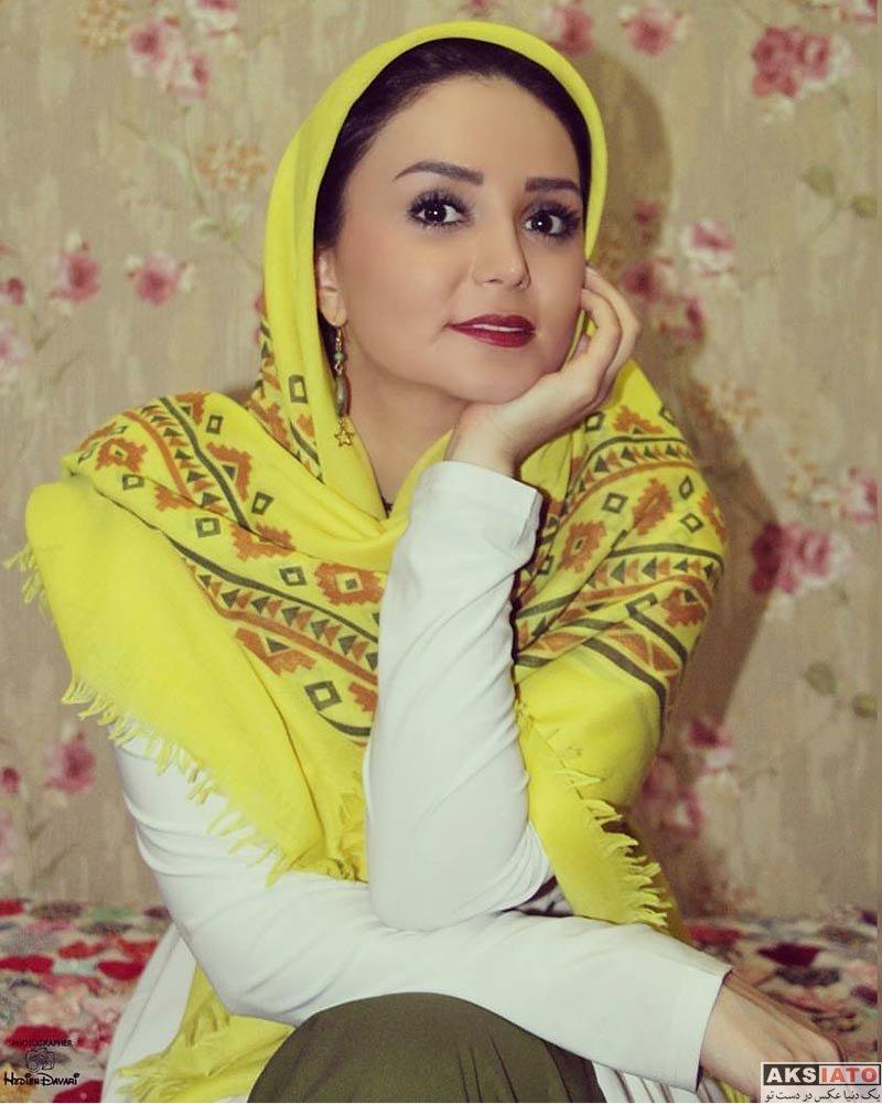 بازیگران بازیگران زن ایرانی  کیمیا گیلانی بازیگر نقش نازگل در سریال افسانه هزارپایان (6 عکس)
