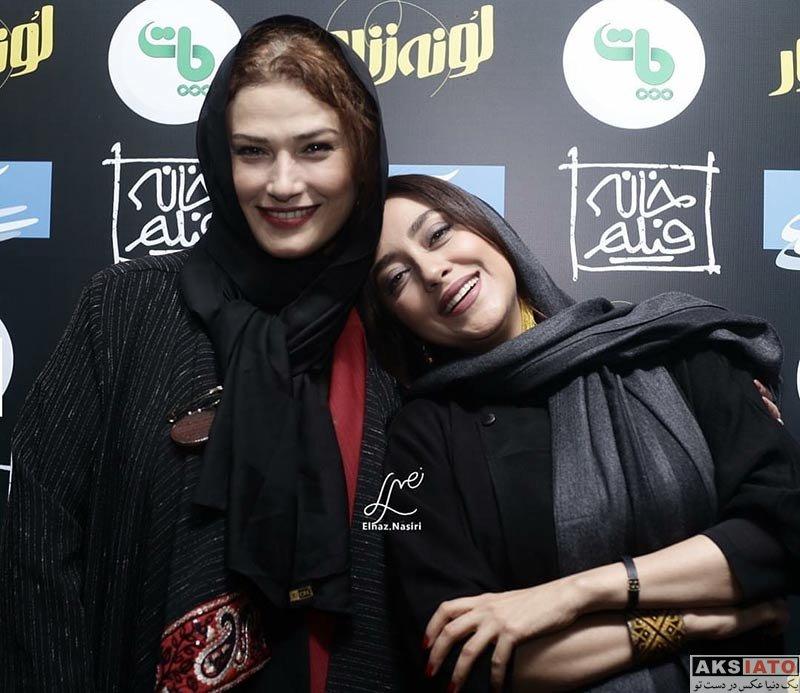 بازیگران بازیگران زن ایرانی  لادن مستوفی در اکران مردمی فیلم لونه زنبور (4 عکس)