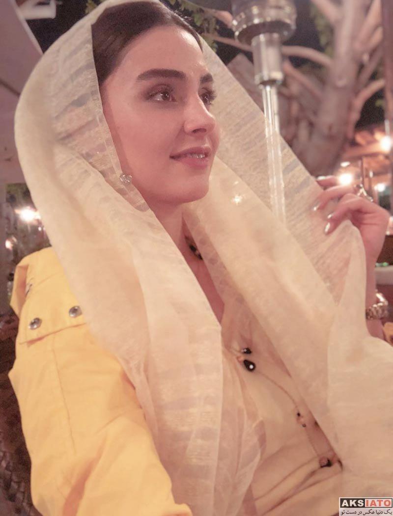 بازیگران بازیگران زن ایرانی  عکس های لاله مرزبان بازیگر سریال آنام در فروردین 97 (10 تصویر)