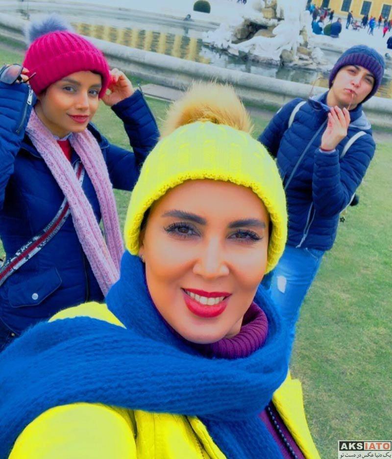 بازیگران بازیگران زن ایرانی  لیلا بلوکات به همراه دوستانش در وین اتریش (5 عکس)