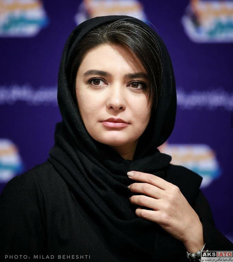 بازیگران بازیگران زن ایرانی  لیندا کیانی در اختتامیه جشنواره مردمی برنامه های نوروزی ۹۷ (۳ عکس)