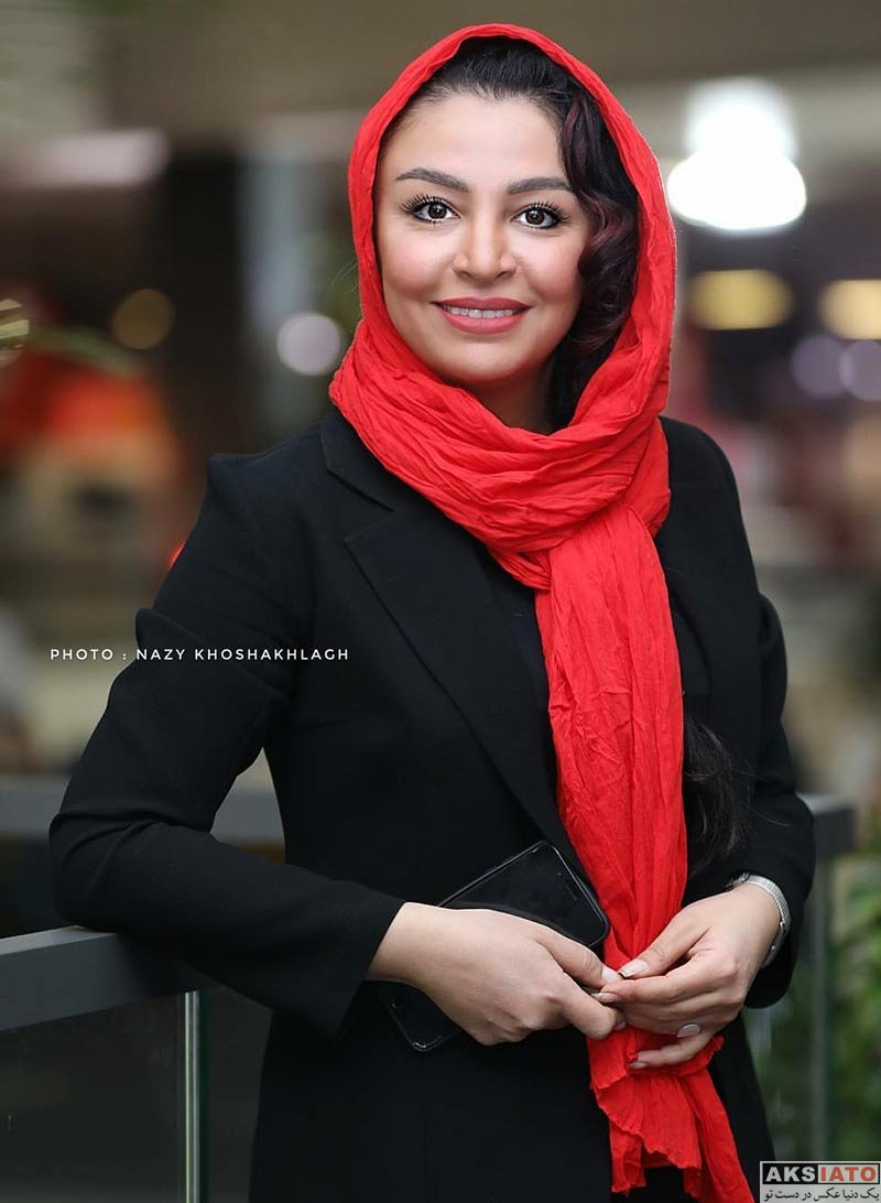 جشنواره جهانی فیلم فجر  مه لقا باقری در سی و ششمین جشنواره جهانی فیلم فجر (4 عکس)