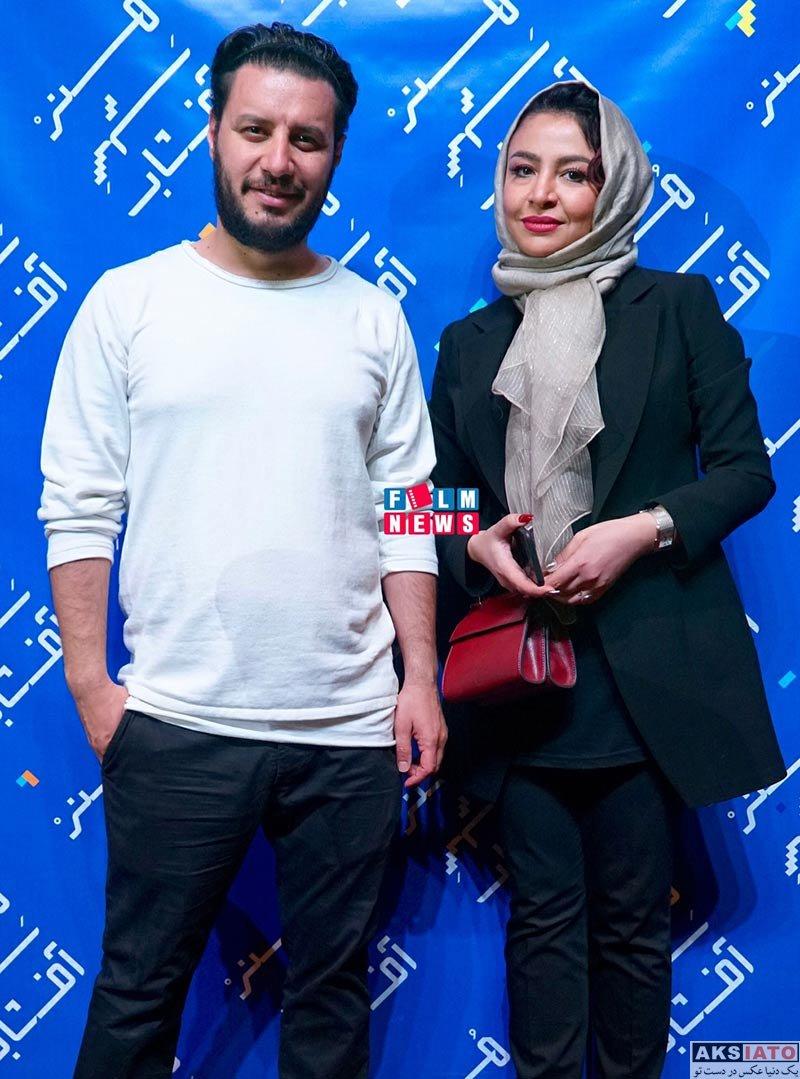 بازیگران بازیگران زن ایرانی  مه لقا باقری در سینما هنر شهر آفتاب شیراز (۴ عکس)