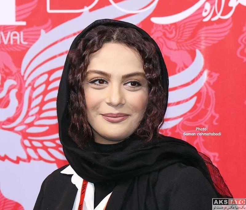 جشنواره جهانی فیلم فجر  مارال فرجاد در سی و ششمین جشنواره جهانی فیلم فجر (4 عکس)