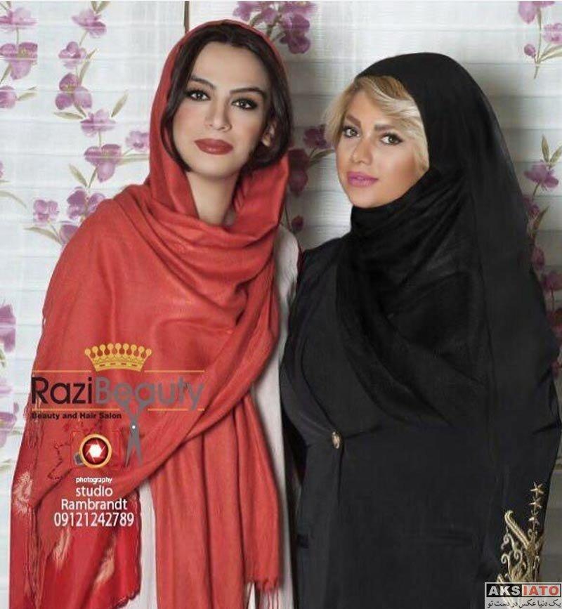 بازیگران بازیگران زن ایرانی  عکس های مارال فرجاد در فروردین ماه 97 (10 تصویر)
