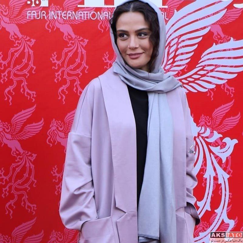 جشنواره جهانی فیلم فجر  مارال فرجاد در اختتامیه ۳۶مین جشنواره جهانی فیلم فجر (۴ عکس)