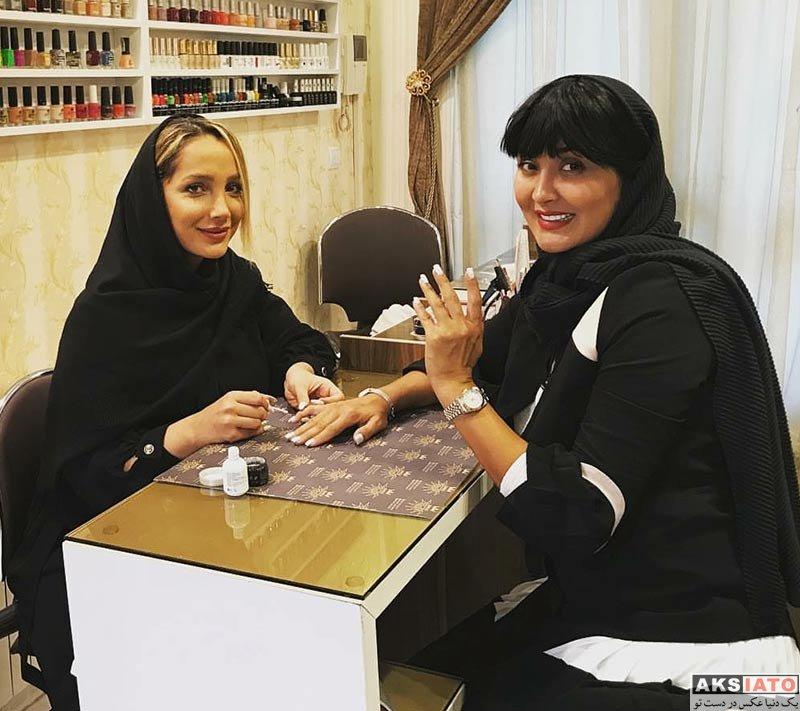 بازیگران بازیگران زن ایرانی  عکس های مریم معصومی در فروردین ماه ۹۷ (8 تصویر)