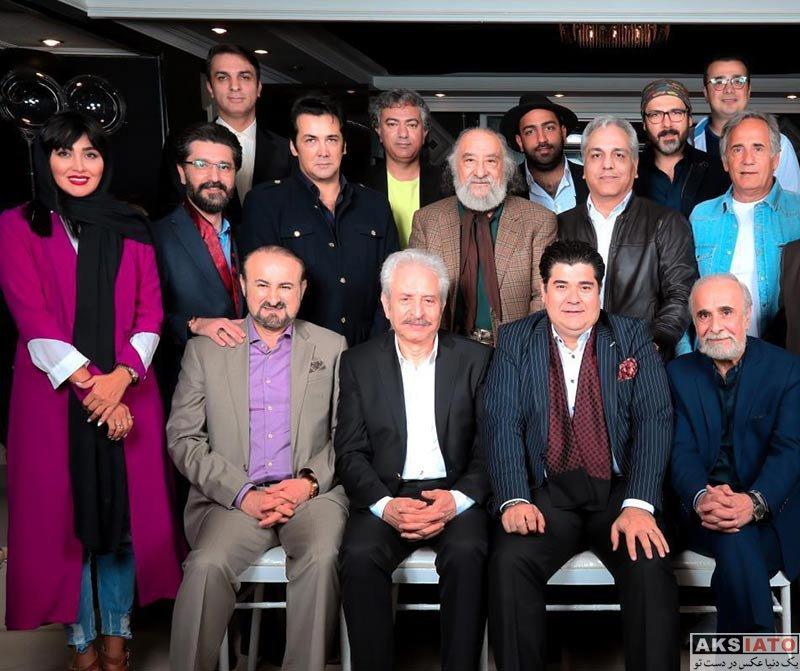 بازیگران بازیگران زن ایرانی  مریم معصومی در جشن تولد مهران مدیری (2 عکس)