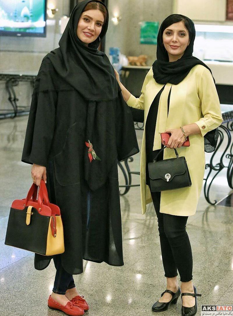 بازیگران بازیگران زن ایرانی  متین ستوده در اختتامیه جشنواره مردمی برنامه های نوروزی 97 (3 عکس)