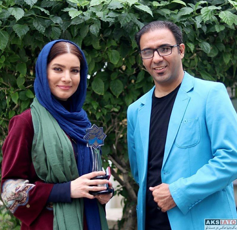 بازیگران بازیگران زن ایرانی  متین ستوده در برنامه صبح خلیج فارس (3 عکس)