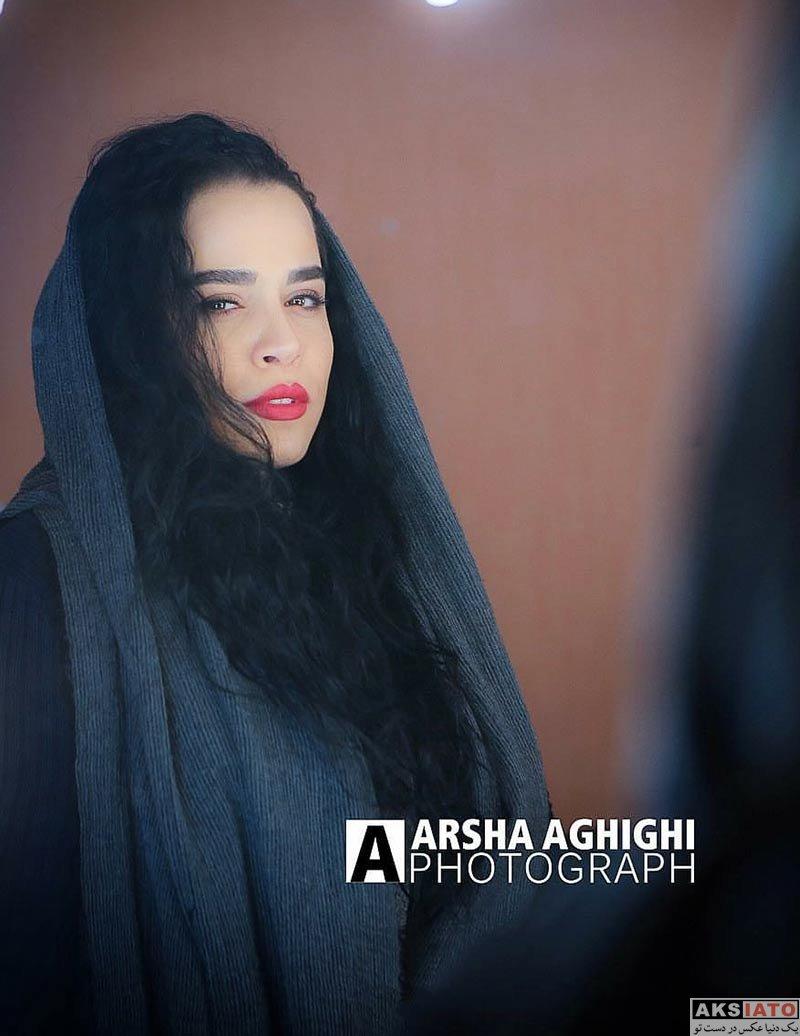 بازیگران بازیگران زن ایرانی  عکس های ملیکا شریفی نیا در فروردین ماه 97 (8 عکس)