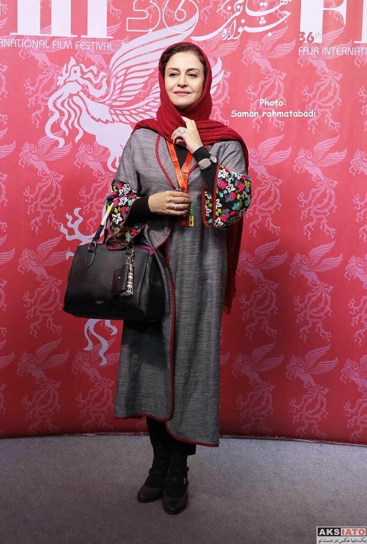 جشنواره جهانی فیلم فجر  مریلا زارعی در سی و ششمین جشنواره جهانی فیلم فجر (4 عکس)