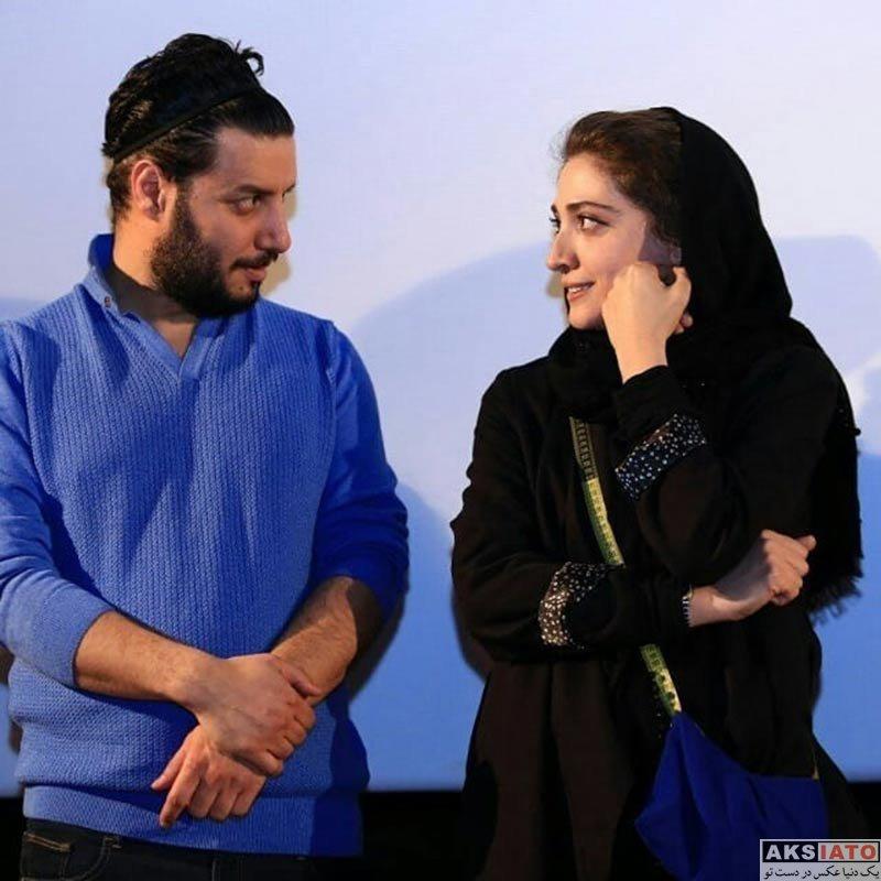 بازیگران بازیگران زن ایرانی  مینا ساداتی در اکران مردمی فیلم خرگیوش (4 عکس)