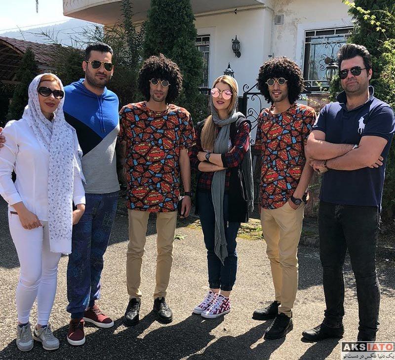 بازیگران بازیگران مرد ایرانی مصطفی و مجتبی بلال حبشی بازیگران نقش رحمان و رحیم پایتخت (3 عکس)