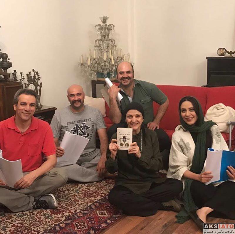 بازیگران بازیگران زن ایرانی  عکس های مونا فرجاد در فروردین ماه ۹۷ (8 تصویر)