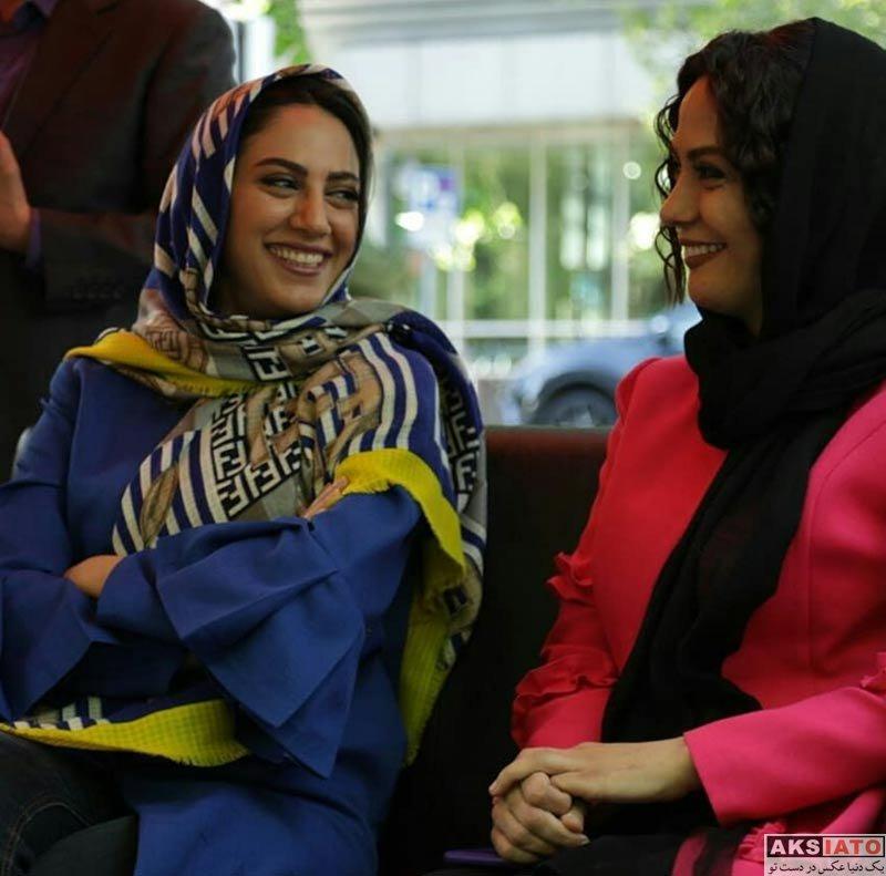 بازیگران بازیگران زن ایرانی  مونا فرجاد در برنامه نوروزگاه تهران (4 عکس)