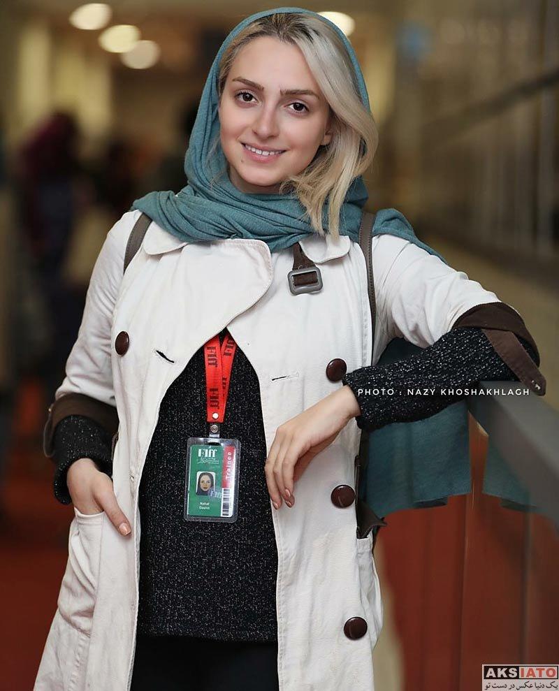 جشنواره جهانی فیلم فجر  نهال دشتی در سی و ششمین جشنواره جهانی فیلم فجر (3 عکس)