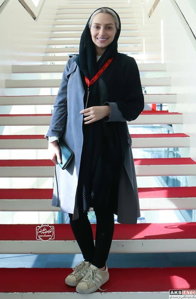 بازیگران بازیگران زن ایرانی  نهال دشتی در سی و ششمین جشنواره جهانی فیلم فجر (2 عکس)