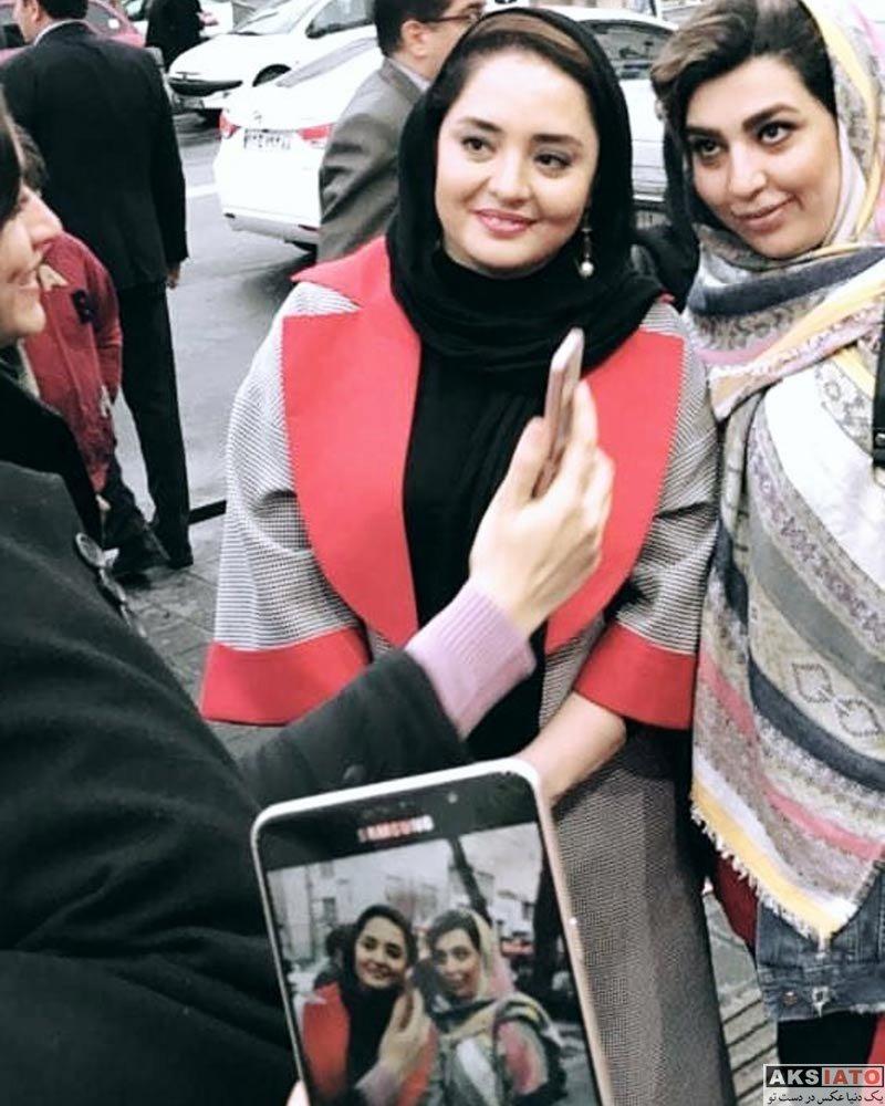 بازیگران بازیگران زن ایرانی  عکس های نرگس محمدی در فروردین ماه ۹۷ (۸ تصویر)