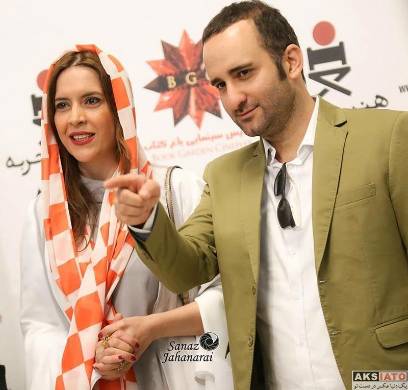بازیگران بازیگران زن ایرانی  نازنین فراهانی در اکران افتتاحیه فیلم کوپال (4 عکس)