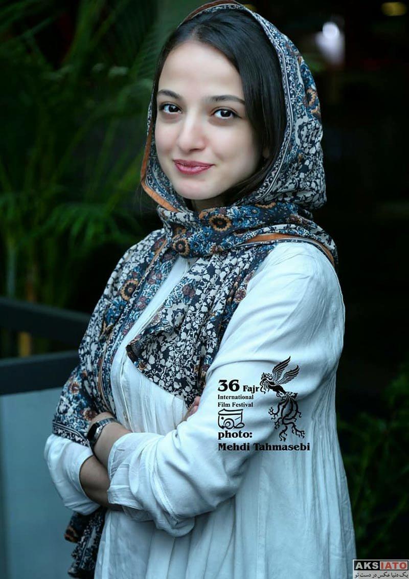 جشنواره جهانی فیلم فجر  ندا جبرائیلی در سی و ششمین جشنواره جهانی فیلم فجر (2 عکس)