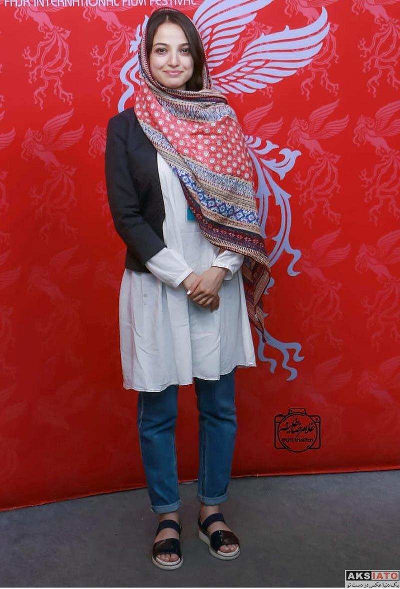 جشنواره جهانی فیلم فجر  ندا جبرائیلی در روز هفتم ۳۶مین جشنواره جهانی فیلم فجر (2 عکس)