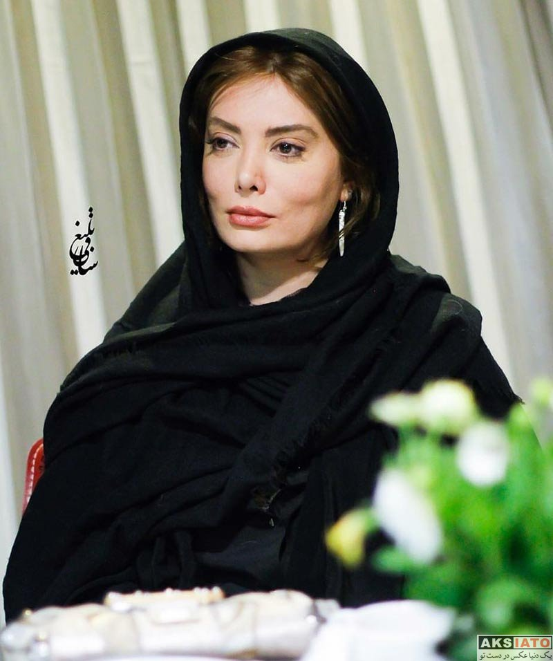 بازیگران بازیگران زن ایرانی  نگار فروزنده در اولین سالگرد عارف لرستانی (۲ عکس)