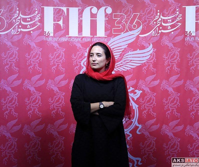 جشنواره جهانی فیلم فجر  نگار جواهریان در سی و ششمین جشنواره جهانی فیلم فجر (5 عکس)
