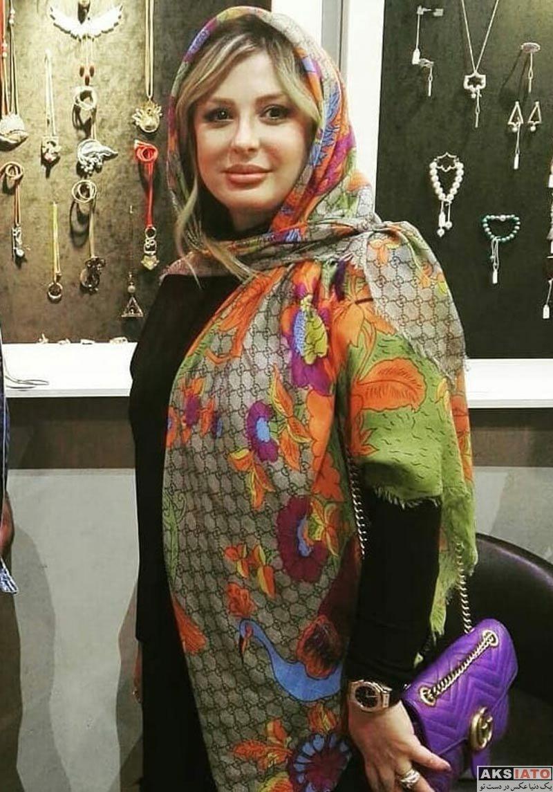 بازیگران بازیگران زن ایرانی  نیوشا ضیغمی بیست و نهمین در نمایشگاه صنایع دستی (3 عکس)