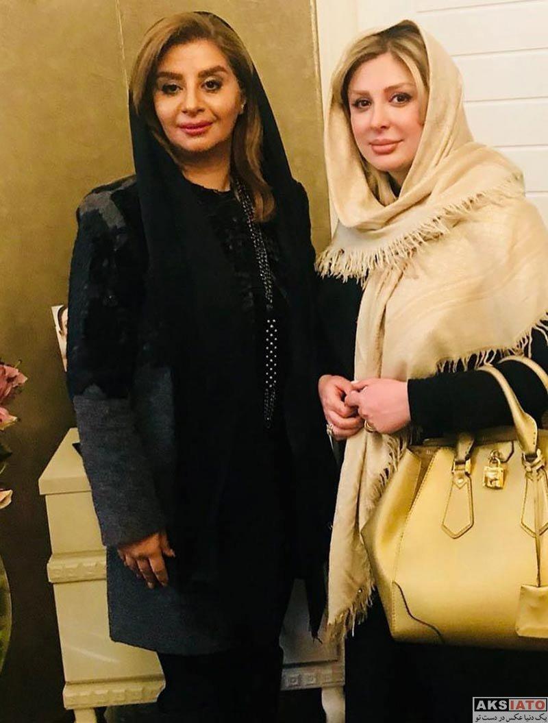بازیگران بازیگران زن ایرانی  نیوشا ضیغمی در سالن زیبایی شیرین مقدم در تبریز (2 عکس)