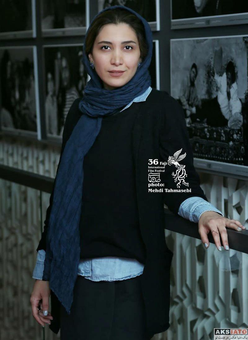 جشنواره جهانی فیلم فجر  نیکی مظفری در روز پنجم ۳۶مین جشنواره جهانی فیلم فجر (۴ عکس)
