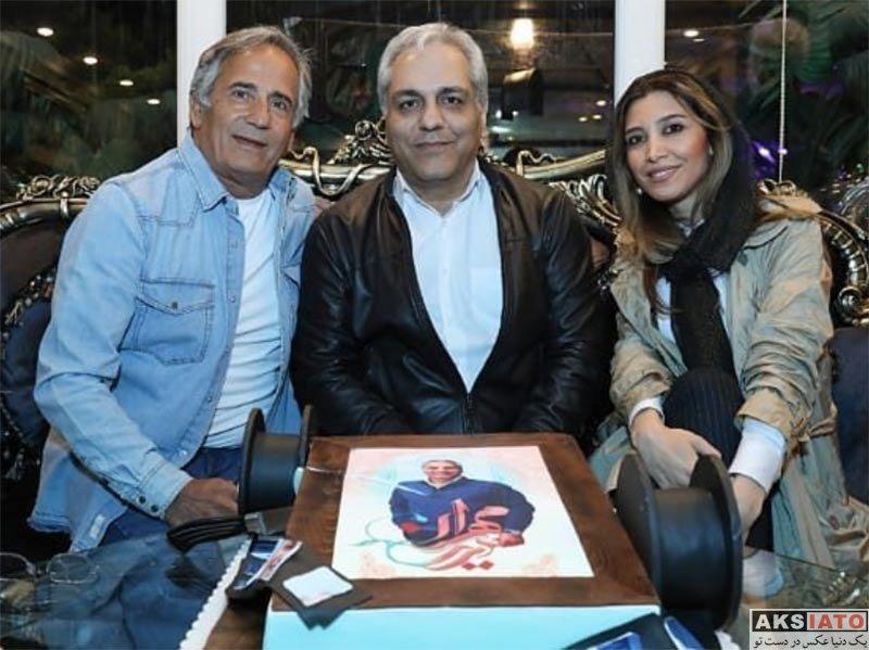بازیگران بازیگران زن ایرانی  نیکی مظفری در جشن تولد مهران مدیری (2 عکس)