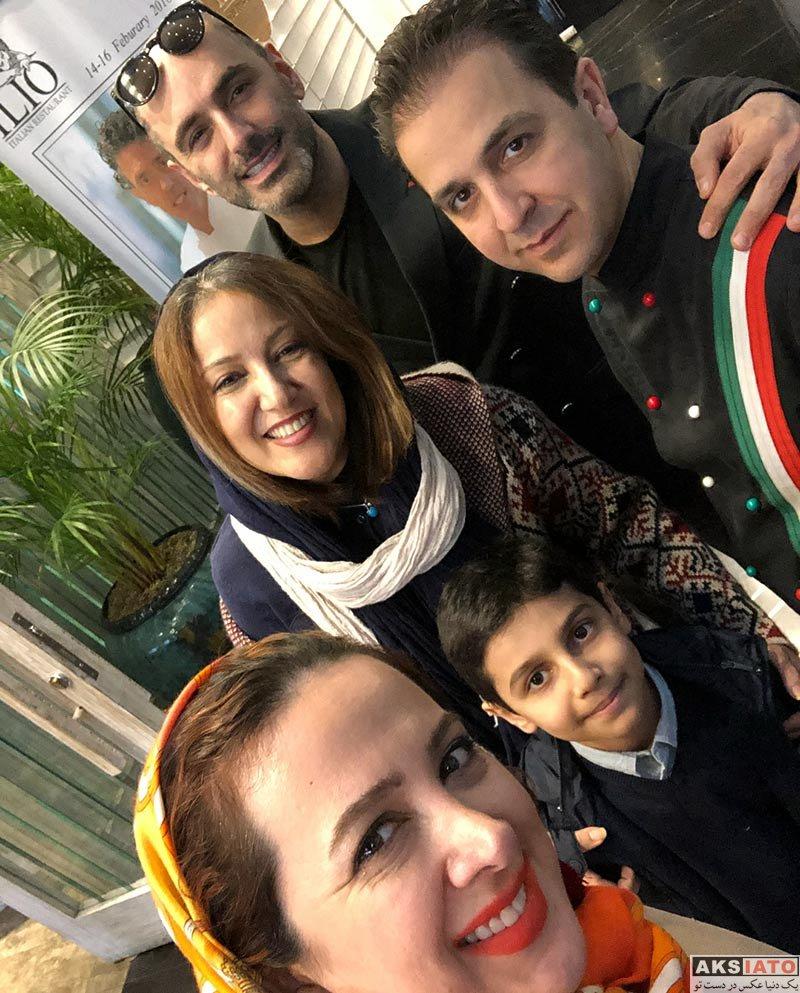بازیگران بازیگران زن ایرانی  پانته آ بهرام در رستوران ایلیو تهران (2 عکس)