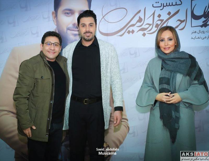 بازیگران بازیگران زن ایرانی  پرستو صالحی در کنسرت احسان خواجه امیری (2 عکس)