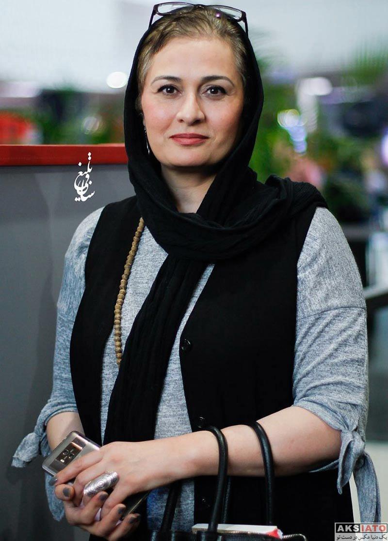 جشنواره جهانی فیلم فجر  پریوش نظریه در سی و ششمین جشنواره جهانی فیلم فجر (۴ عکس)