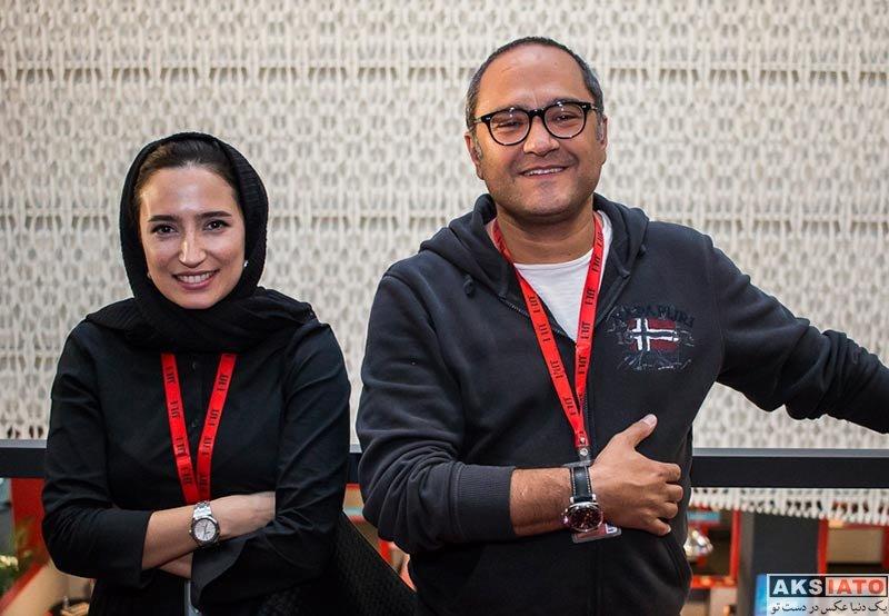 جشنواره جهانی فیلم فجر  رامبد جوان و همسرش در 36مین جشنواره جهانی فیلم فجر (2 عکس)