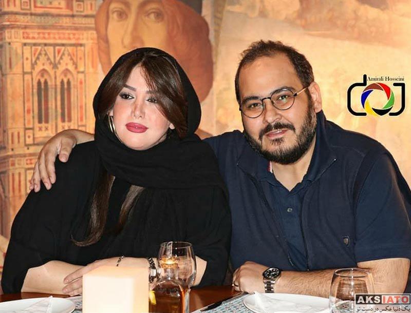 خانوادگی  رضا داودنژاد و همسرش در اکران مردمی فیلم فراری (3 عکس)
