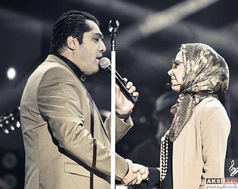 بازیگران مجریان  صبا راد در کنسرت همسرش مانی رهنما (4 عکس)