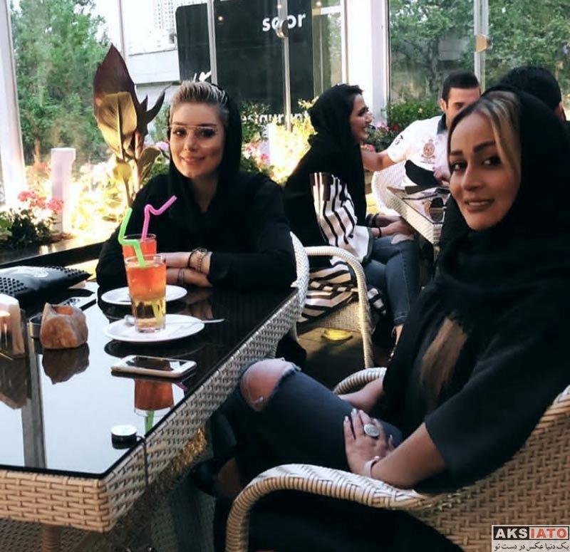 بازیگران بازیگران زن ایرانی  عکس های سحر قریشی در فروردین ماه 97 (10 تصویر)