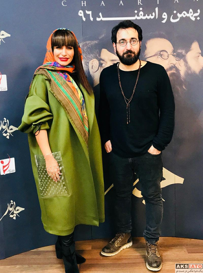 بازیگران بازیگران زن ایرانی  صحرا فتحی در کنسرت گروه چارتار (2 عکس)