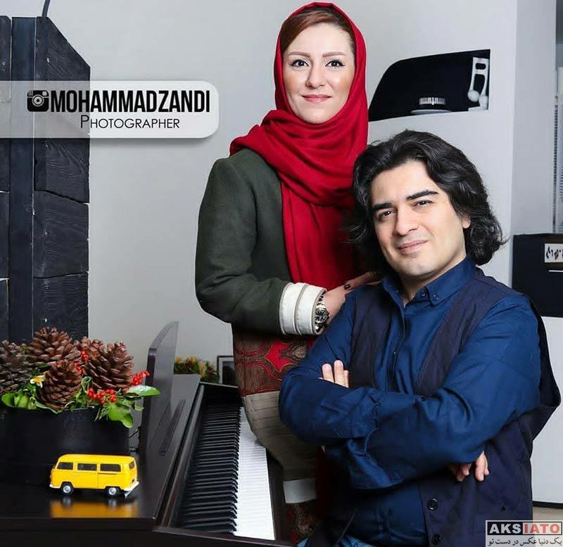خانوادگی  عکس های سامان احتشام و همسرش برای مجله ورزش و تصویر