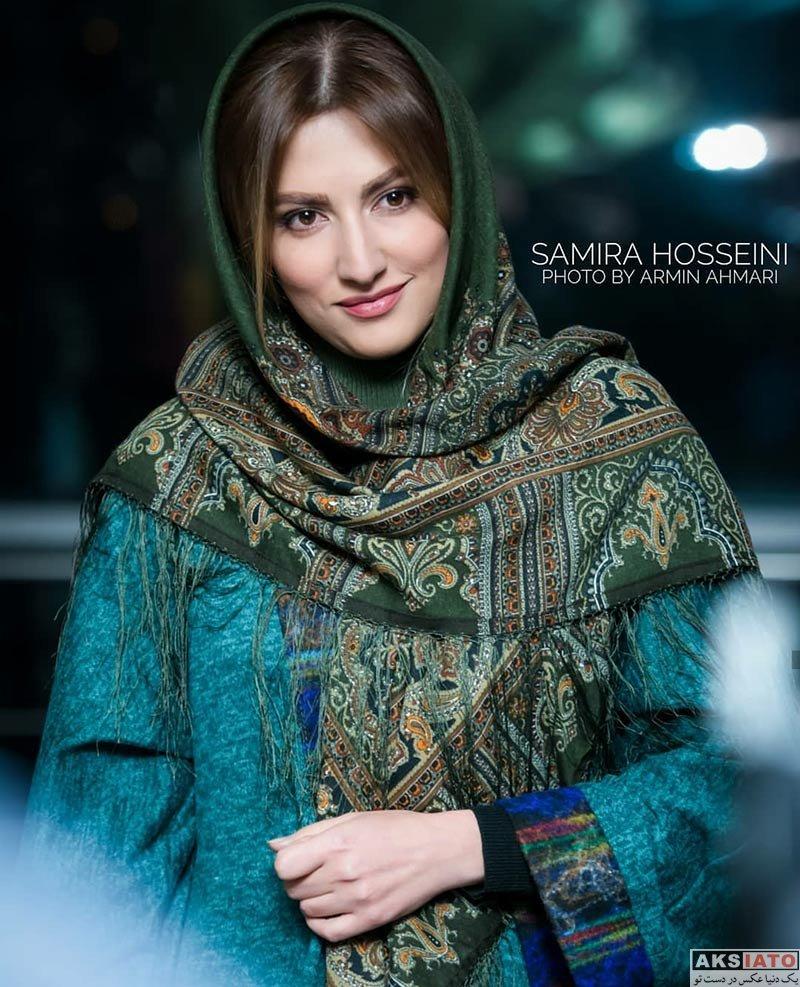 بازیگران بازیگران زن ایرانی  عکس های سمیرا حسینی در فروردین ماه ۹۷ (۶ تصویر)